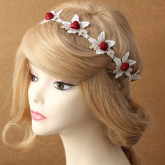 Flower Shaped Lace Headbands