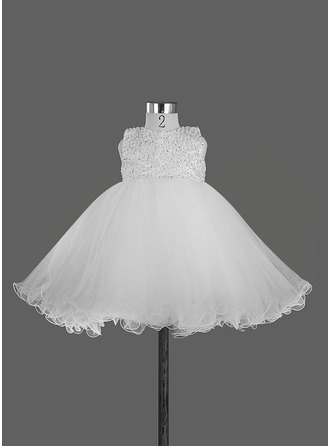 A-Line/Princess Satin With Beading/Bow(s)