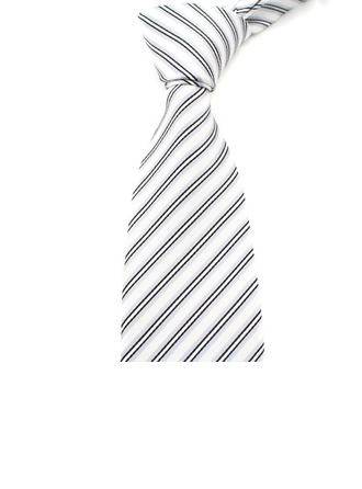 Formal Stripe Polyester Tie