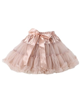 A-Line Tulle Pageant Dresses/Tutu Dresses With Bow(s)