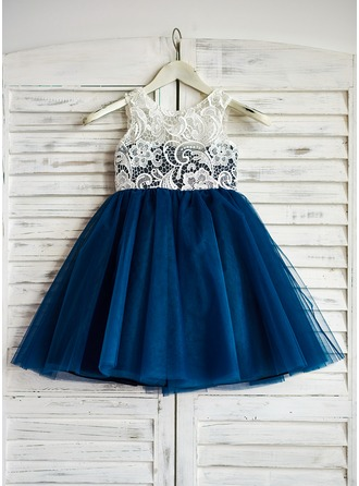 Princess Tulle Girl Dress With Lace