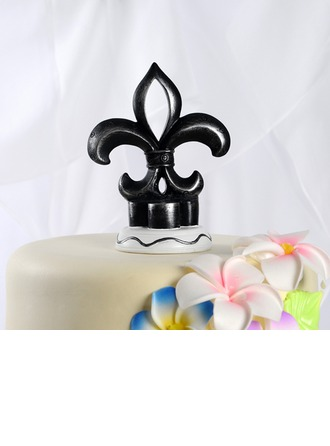 Flower-de-luce Resin Wedding Cake Topper