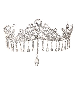 Luxurious Crystal/Alloy Tiaras