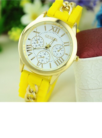 Fashional Silicon Ladies' Body Jewelry/Watches