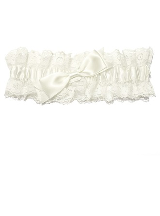Lovely Lace With Bowknot Wedding Garter Skirt