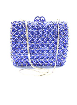 Pretty Crystal/ Rhinestone/Rhinestone/Alloy Clutches