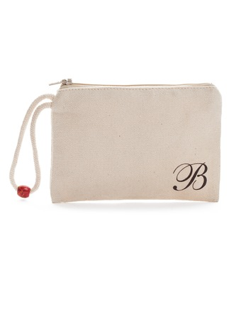 Personalized Classical Linen Wallets & Accessories