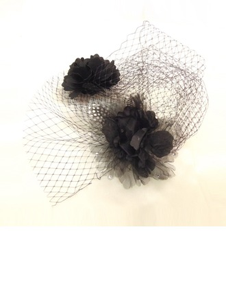 Mode Fil net Chapeaux de type fascinator
