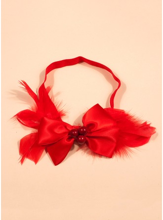 Polyester/Elastic/Feather With Headbands Dress