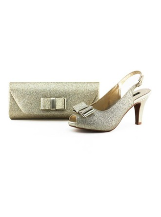 Gorgeous Sparkling Glitter Shoes & Matching Bags