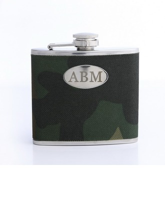 Personalized With-Camouflage-Cover Stainless Steel Flask