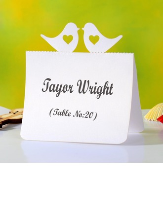 Lovely Love Brid Pearl Paper Place Cards