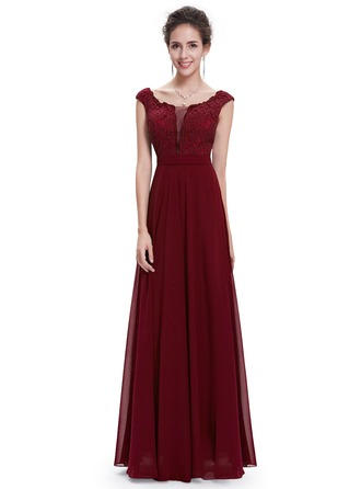 Polyester/Lace/Satin/Tulle/Silk Blend With Spliced Maxi Dress