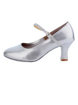 Women's Leatherette Heels Pumps Modern Ballroom Dance Shoes