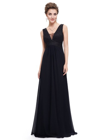 Polyester/Satin/Silk Blend With Stitching/Ruffles Maxi Dress