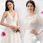 Find the perfect gown for your big day!