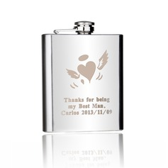 Personalized Angel Design Stainless Steel 198ml(7-oz)