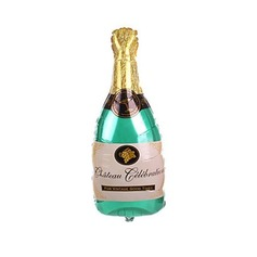 Champagne Bottle Aluminium Foil Balloon
