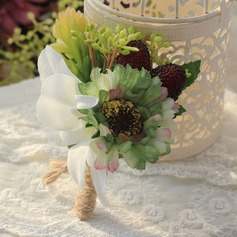 Attractive Cloth/Linen Rope Boutonniere