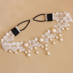 Glamourous Alloy/Lace Forehead Jewelry/Headbands