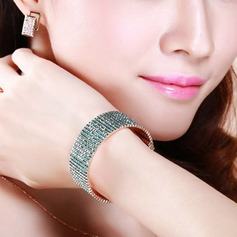 Fashional Alloy With Rhinestone Ladies' Fashion Bracelets