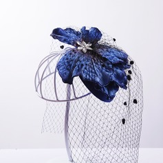 Ladies Elegant Artificial Silk/Net Yarn/Tulle Fascinators