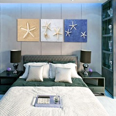 Lovely Starfish Canvas Oil painting