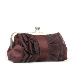 Attractive Silk/Chiffon Clutches/Wristlets
