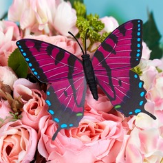 Beautiful Plastic Butterfly Decorative Accessories