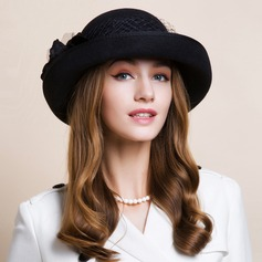 Ladies' Nice Autumn/Winter Wool With Bowler/Cloche Hat (196075416)