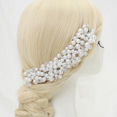 Elegant Crystal/Alloy/Imitation Pearls Headbands