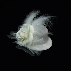 Gorgeous Artificial Silk/Feather Flowers & Feathers