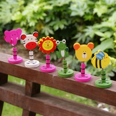 Cute Animal Wooden Place Card Holders