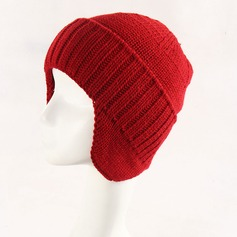 Men's Simple Acrylic Beanie/Slouchy