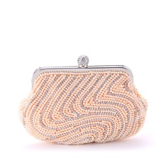 Attractive Imitation Pearl Clutches