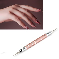 Exquisite Pink Dotting Nail Tools (Sold in a single piece)