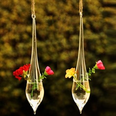 Hanging Water Drop Shaped Glass Vase (128035818)