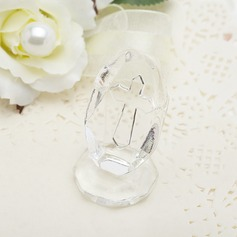 Cross Design Crystal Keepsake