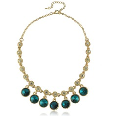 Beautiful Alloy With Crystal Ladies' Necklaces