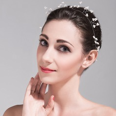Glamourous Alloy/Imitation Pearls Headbands