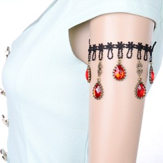 Shining Alloy/Lace With Rhinestone Ladies' Body Jewelry