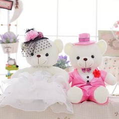 Toys Garden Theme/Fairytale Theme Tulle/Plush Bear Pretty Wedding Decorations