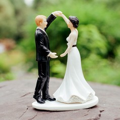 Dancing Couple Figurine Resin Cake Topper