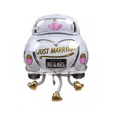 Wedding Car Aluminium Foil Balloon