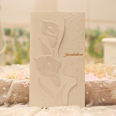 Classic Style/Floral Style Tri-Fold Invitation Cards