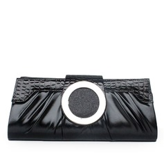 Gorgeous PU With Metal Clutches