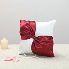 Grace Ring Pillow in Cloth With Ribbons/Sash