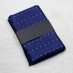 Dot Polyester Pocket Square