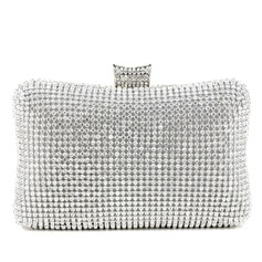Shining Crystal/ Rhinestone With Metal Clutches
