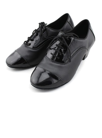 Women's Real Leather Heels Pumps Latin Jazz Practice Party Tango Dance Shoes